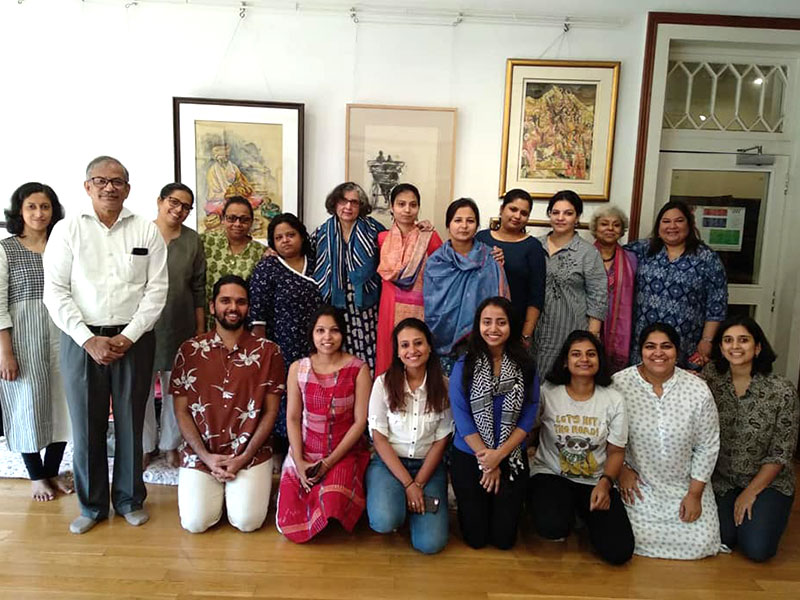 Training program on Narrative Ideas and Narrative Practices