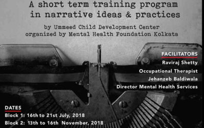 Watch Out! Mhf Kolkata's Narrative Therapy Training